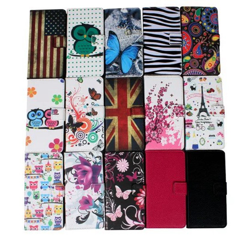 Painted Flip Case For Sony Xperia Z5 Premium Wallet Case Fashion Pu Leather Phone Bags Cases For Sony Z5 Premium Cover(China (Mainland))