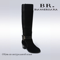 BASSIRIANA New Winter Snow Boots First Layer Of Matte Leather