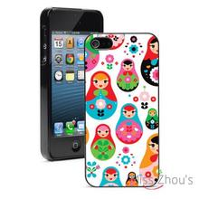 Russian Dolls Protector back skins mobile cellphone cases for iphone 4/4s 5/5s 5c SE 6/6s plus ipod touch 4/5/6