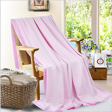 New arrivel Bamboo Fiber blanket Towel Quilt Air Conditioning Summer Blanket Home Hotel Super Soft breathable Blanket hot(China (Mainland))