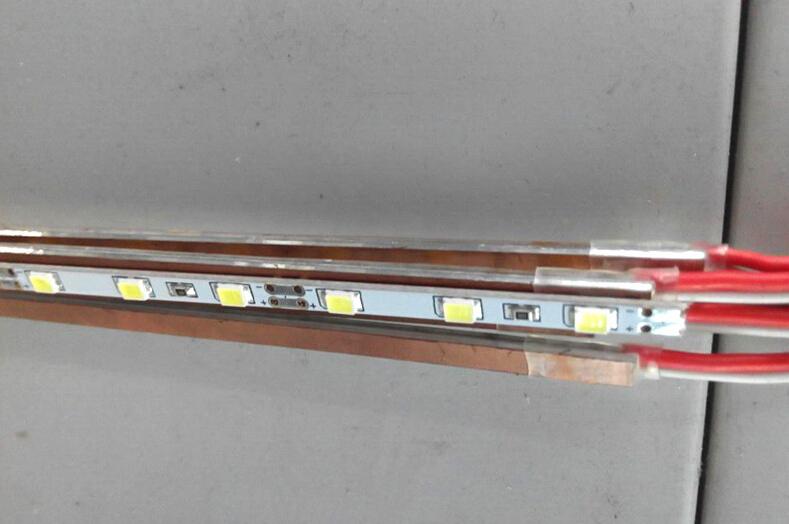 0.5m/pc SMD2835 96Leds 4mm Rigid Bar Flexible LED Strip Aluminum Base 3287203CW(China (Mainland))