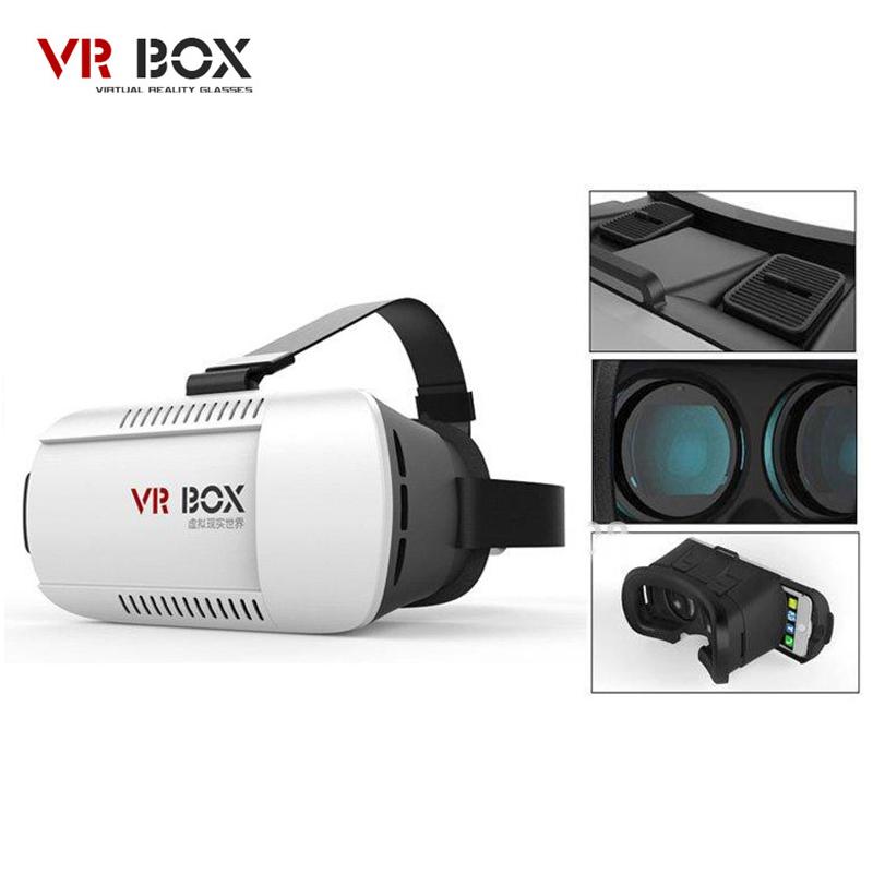 VR Box 1 3D Glasses Virtual Reality Goggles VR Headset Cardboard Oculus Rift PC Virtual Video Gafas 3D Smartphone Headmount IOS(China (Mainland))