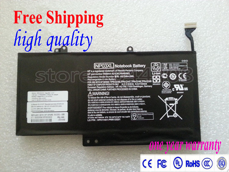 New Original  Laptop Battery NP03XL For HP Pavilion X360 13-A010DX HSTNN-LB6L 760944-421 TPN-Q146 TPN-Q147 TPN-Q148 43Wh<br><br>Aliexpress