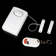 Gate/Door Window Magnetic Alarm Wireless Door Burglar Alarm For Home Safety Security Alarm System Device House Alarme + Remote(China (Mainland))