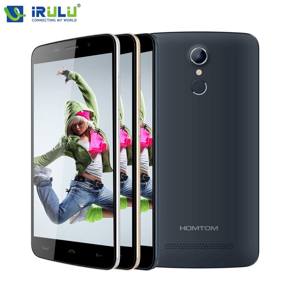 """HOMTOM HT17 4G Cell Phone MTK6737 Quad Core 5.5"""" Smartphone 1GB 8GB Android 6.0 3000mAh Fingerprint Mobile Phone IT Warehouse(China (Mainland))"""