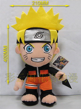 Movies & TV Naruto figure 30cm The Uzumaki Naruto plush toy 12 inch doll gift p9129(China (Mainland))