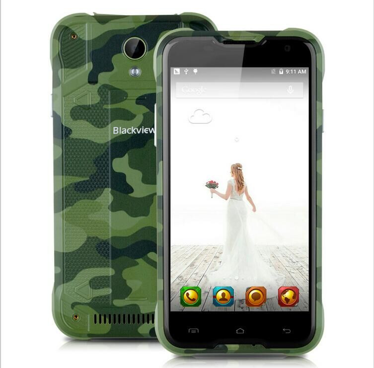 Original Blackview BV5000 LTE 4G IP67 Waterproof Mobile Cell Phone MTK6735 5.0″ Android 5.1 Quad Core 8MP 2GB RAM 16GB ROM Stock