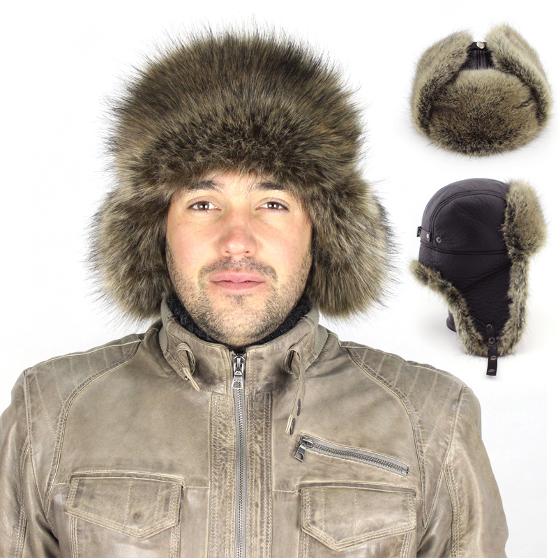 2014 winter Warm Proof Trapper Hat, Russian Hat, sport outdoor earflaps bomber caps for men Free ShippingОдежда и ак�е��уары<br><br><br>Aliexpress