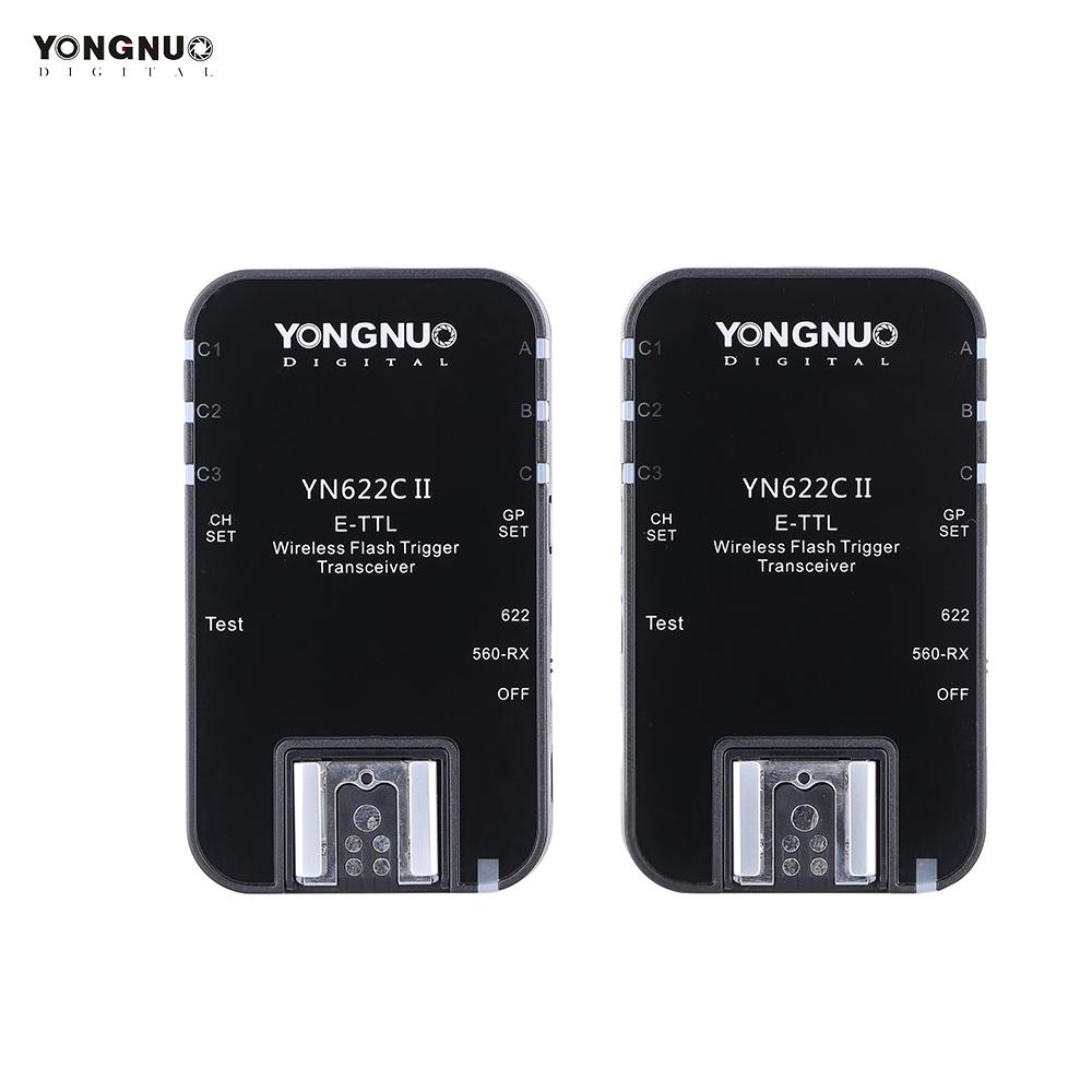 YONGNUO YN622C II 2.4G Wireless E-TTL Flash Trigger Receiver Transmitter Transceiver Shutter Release for Canon EOS 5D Mark II(China (Mainland))