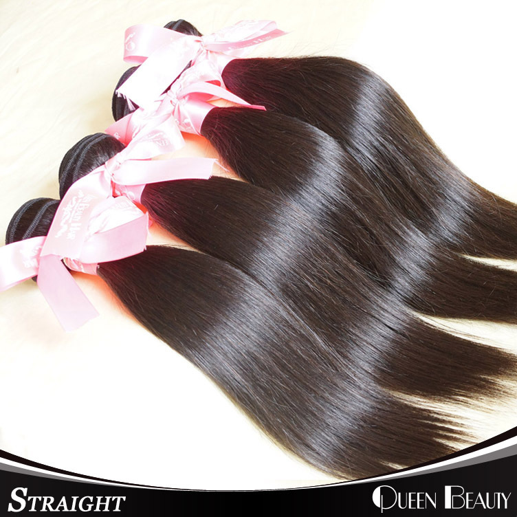 Unprocessed indian virgin hair 4pcs lot shipping free natural black color indian virgin straight hair 8inch to 30inch(China (Mainland))