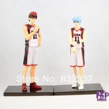 2016 New High Quality Boxed anime Kuroko's Basketball PVC Action Figures Kagami Taiga/Kuroko Tetsuya toys 2PCS/SET
