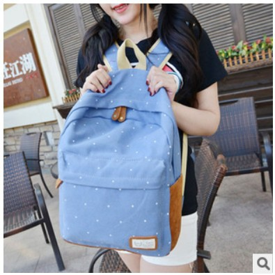 2015 fashion women canvas backpack mochila feminina female travel Japanese school bags for teenagers shoulder bolsa Rucksack(China (Mainland))