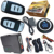 smart key car security system auto start stop engine side door alarm trigger protection supporting diesel or petrol car