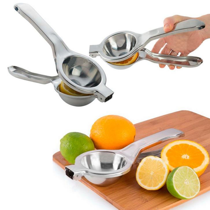 Stainless Steel Hand Press Lemon Squeezer Juicer Orange Citrus Press Juice Fruit Lime Kitchen & Bar Tools(China (Mainland))