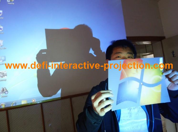 Rear gray projection screen film, PET film optical projection screen,Perfect advertisement medium(China (Mainland))