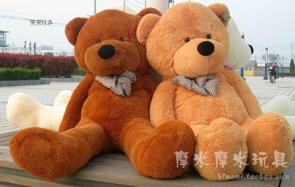 Stuffed animal 100 cm bowtie Teddy bear plush toy bear throw pillow doll w3357(China (Mainland))