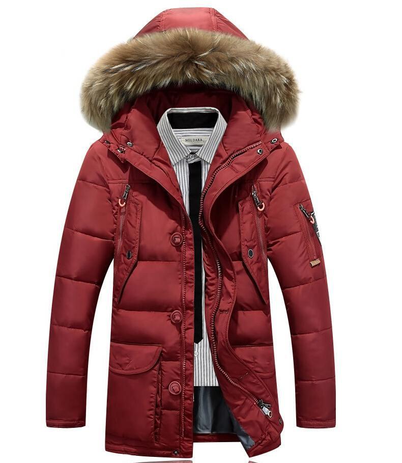 Men Down Jacket With Hood 90% Duck Down Winter Men Overcoat Plus Size Outwear Winter Men Coat Jackets Men Winter Jackets Mens