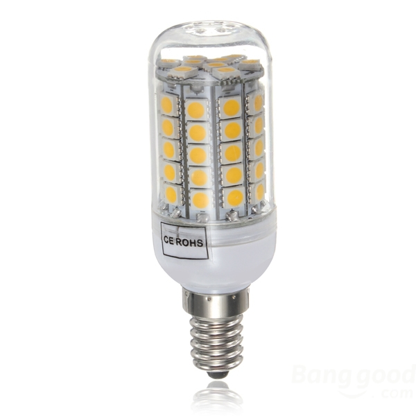 On Sale 12w Led Bulb Lighting Lamp E14 Base 59 Smd5050 High Lumens Led Candle Bulb Warm White