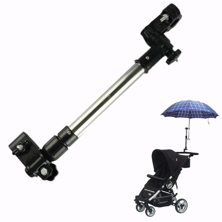 Гаджет  Modern Hot Pram Stroller Wheelchair  Bicycle Motocycle babyseat Buggy Bike Umbrella Holder Connector May4 None Дом и Сад