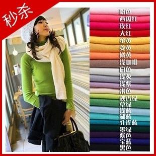 2013 loose turtleneck women's basic shirt female sweater outerwear basic sweater