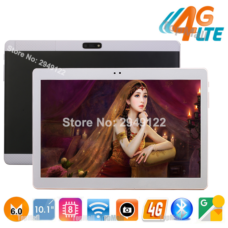 Pop Pink 4G FDD LTE Android 6.0 10 inch tablet pc Octa Core 4GB RAM 32GB ROM 8 Cores 8MP Interface GPS Bluetooth tablets 10.1(China (Mainland))