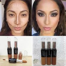 Base Maquiagem Pro Concealer Women Brand Make Up Face Facial Dermacol Corretivo Bronzer Concealer Sticker Primer Makeup(China (Mainland))