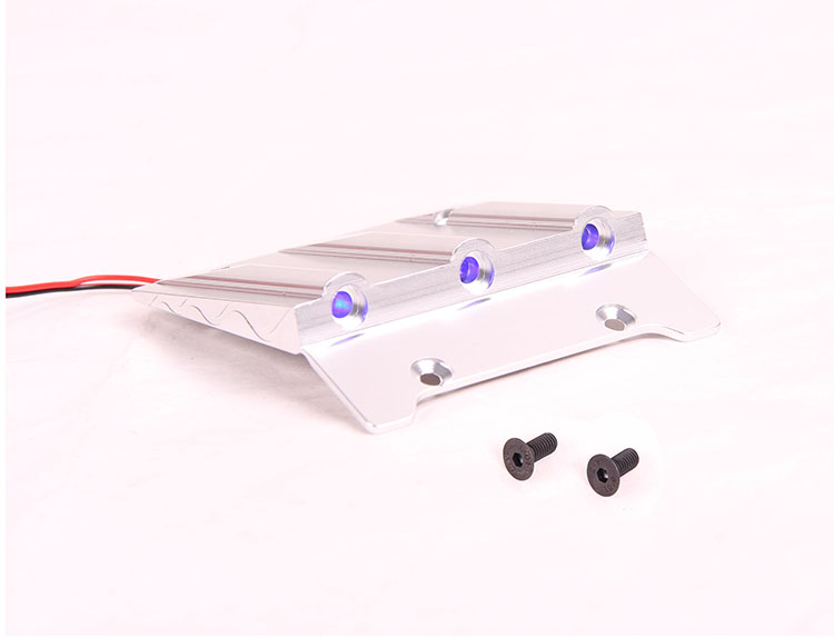 Rovan parts 1/5 gas rc baja spare parts NEW PRODUCT CNC top decoration plate with LED light 95202(China (Mainland))