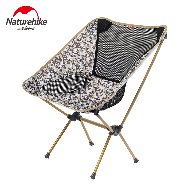 NatureHike Outdoor Folding Chair Portable Folding Camping Chair Foldable Chair Fishing Chair for Picnic BBQ Beach 4 Colors(China (Mainland))