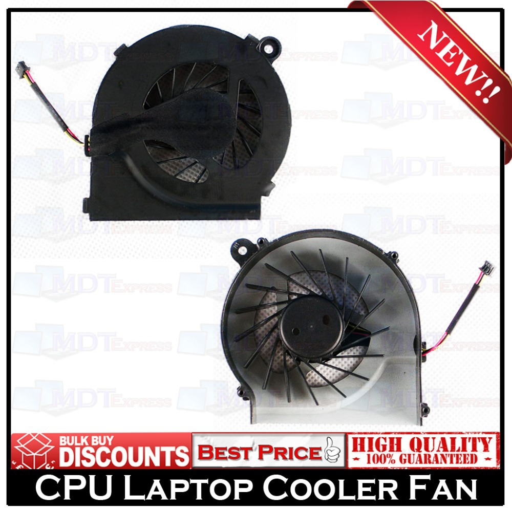 New! Laptop CPU Cooling Cooler Fan for HP Pavilion G7 G6 G4 G4T G6T G7T Series 643364-001 Compaq CQ42 G42 G62 G56 646578-001(China (Mainland))