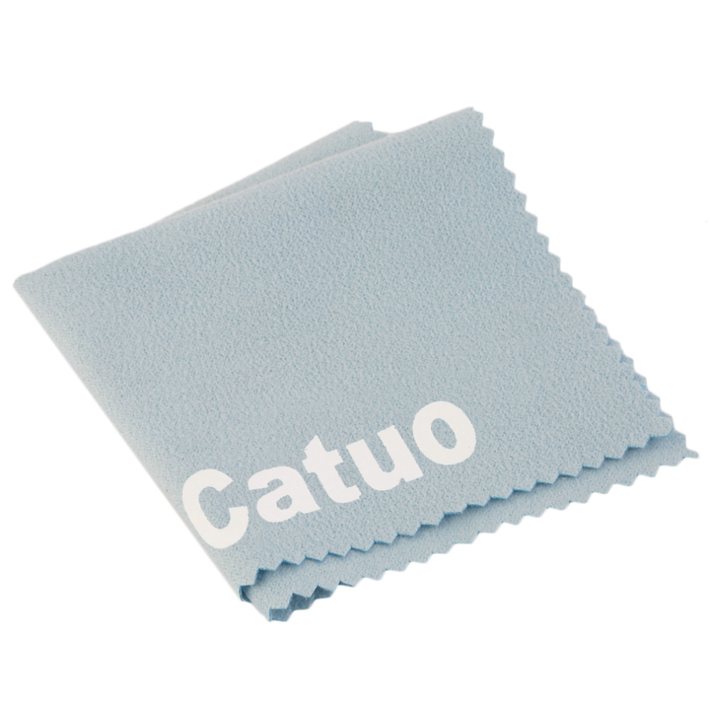 High Quality Phone Screen Camera Lens Glasses Cleaner Cleaning Cloth Dust Remover Cloth with Catuo Pattern(China (Mainland))