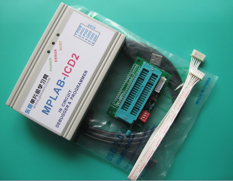 Free shipping PIC programmer ICD2 PIC Microcontroller Programmer PIC simulator simulator(China (Mainland))