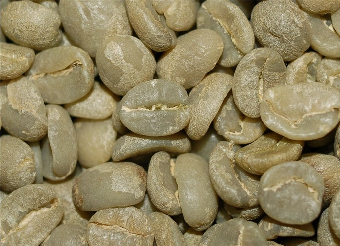 Free shipping 500g Sweet coffee beans green slimming coffee lose weight