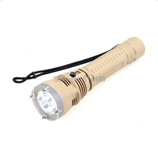 Free Shipping TrustFire DF002 3xCree XM-L2 1300LM LED Diving Flashlight (2x26650)<br><br>Aliexpress
