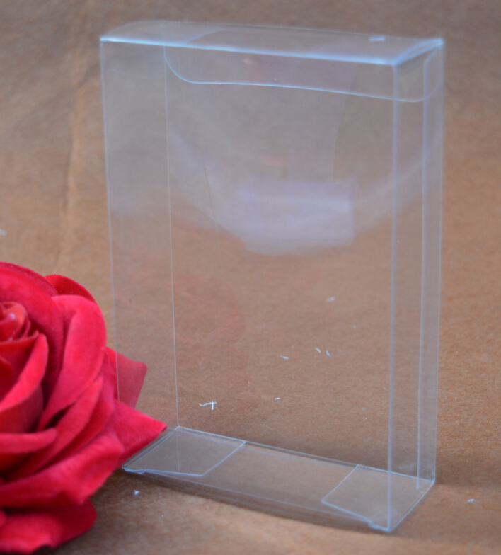 3*8*12cm Small Transparent/clear pvc box packaging,clear plastic pvc box for gift,transparent waterproof clear pvc boxes(China (Mainland))
