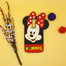 3D Cartoon Minnie Mickey Case Soft Silicone Back Cover LG K7 Q7 LTE X210 MS330 LS675 M1 Tribute 5 Rubber Shell - International Fashion Goods Stores store