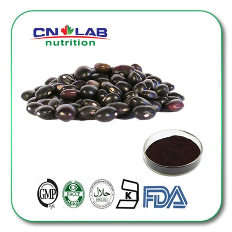 100% Pure Natural Baked black soya bean extract powder<br><br>Aliexpress