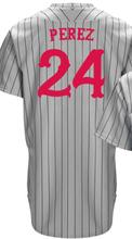 21 Deion Sanders Jersey 30 Ken Griffey Jr Jersey 19 Joey Votto 24 Tony Perez Throwback Grey Stripes Stitched Embroidery Jerseys(China (Mainland))