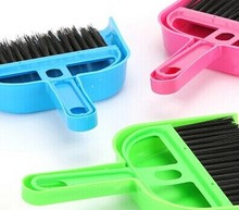 random color 50pcs a lot 2014.11.26-a-31 details please contact seller thanks Multi-function cleaning broom With a dustpan suit(China (Mainland))