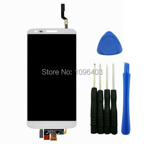 Здесь можно купить  For For LG Optimus G2 D800 D801 D803  Digitizer Front Glass LCD Screen Assembly Repair Touch Screen Replacement With Tools White  Телефоны и Телекоммуникации