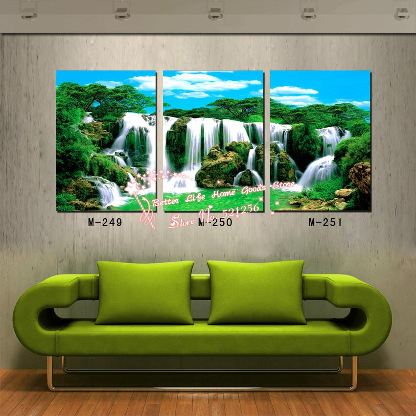 Popular multi panel canvas wall art buy cheap multi panel for Multi frame wall art