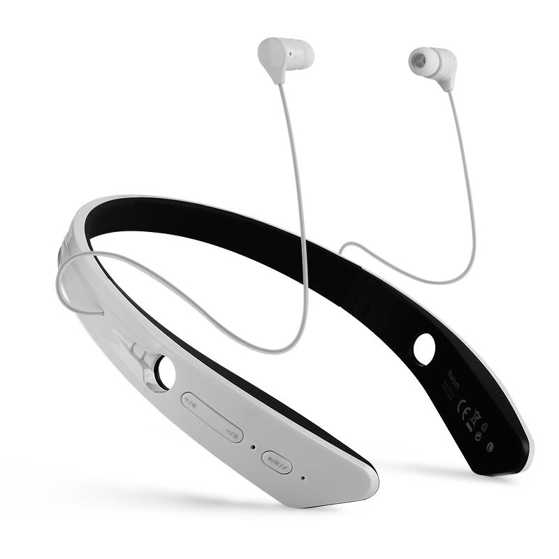cool sports wireless bluetooth headphone earphone for samsung around the neck design bluetooth. Black Bedroom Furniture Sets. Home Design Ideas
