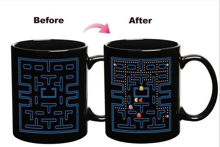 2015 the most popular Ceramic mug heat sensitive Color changing mug for all ages(China (Mainland))
