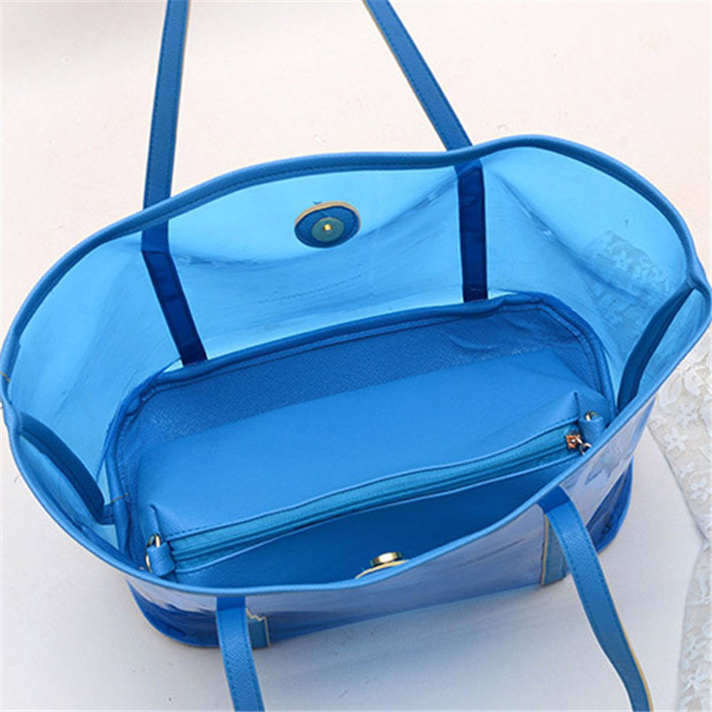 Clear Pvc Shoulder Bag 62