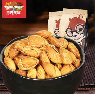 Shell almonds 80g bag hand stripping Almond nuts snack snacks imported china<br><br>Aliexpress