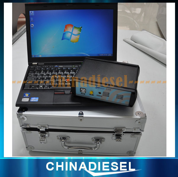 Universal Truck Jaltest Link Diagnostic Tool with install software in notebook Global Solution V12.1 Heavy Duty Diesel Scanner(China (Mainland))