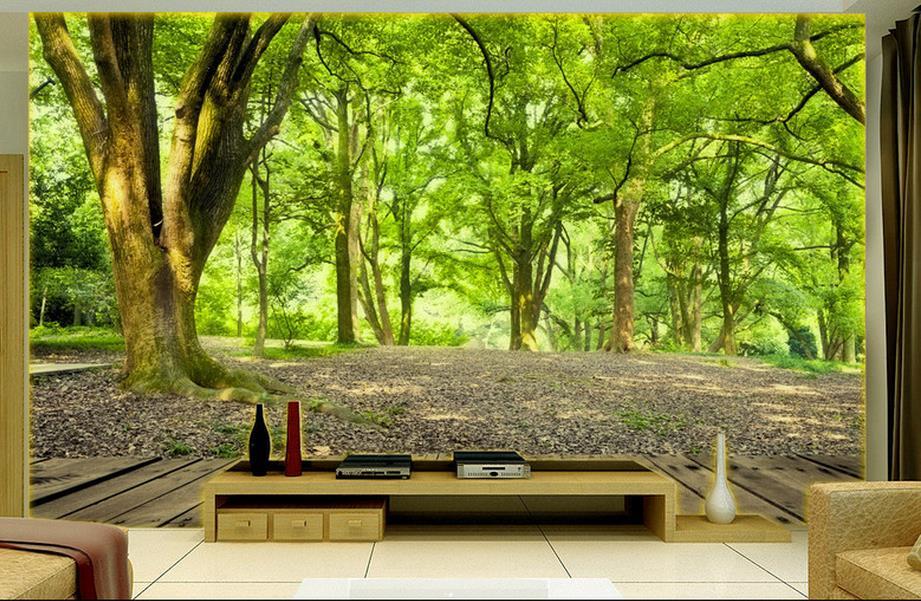 Natuur Behang Slaapkamer : Behang landschap. interesting beibehang foto achtergrond behang