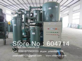 Vacuum Hydraulic Oil Treatment, Lubricant Oil Processing, Oil Recycling Machine