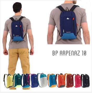 HOT 2015 New fashion backpack women outdoor backpack 10L gym bag Men Nylon Waterproof school bags sports bag women bike backpack(China (Mainland))