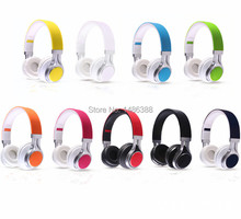 NEW 3.5mm Wired Headphones Earphone Earbuds Stereo Foldable Headset with Mic Microphone for iPhone Samsung HTC Xiaomi free ship