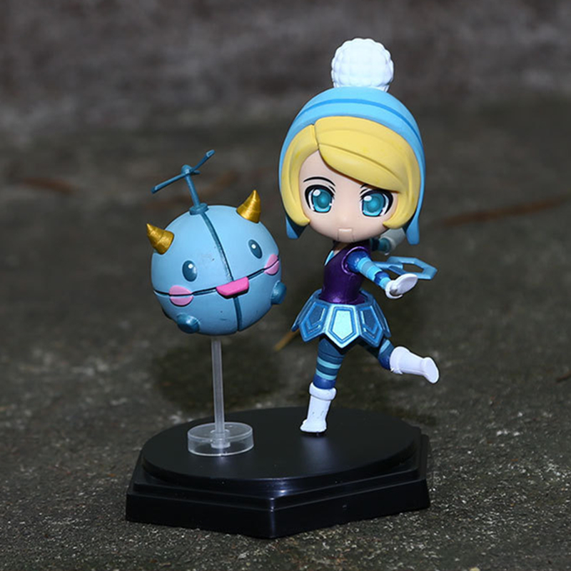 New hot sale Game anime font b figure b font PVC doll toy LOL Orianna action